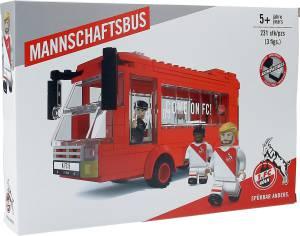 """1. FC Köln Bausatz """"Mannschaftsbus"""" 228 Teile"""