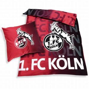 1. FC Köln Bettwäsche Leuchtend 135x200cm