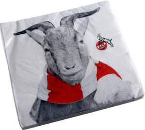 """1. FC Köln Servietten """"Hennes"""" 20er Set"""