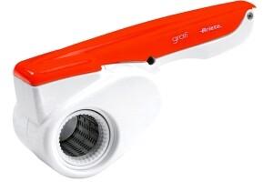 Reibe elektrisch 27,7 x 12 x 12,4 cm weiß/ orange
