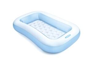 Intex kleiner Kinderpool / Babypool blau-weiß, 166 cm