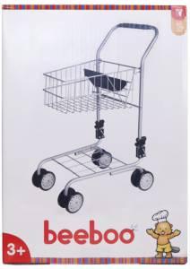 beeboo Spielzeug-Einkaufswagen 40,5 x 30 x 58 cm