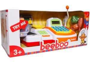 beeboo Spielzeug Kasse mit Laufband und Scannfunktion