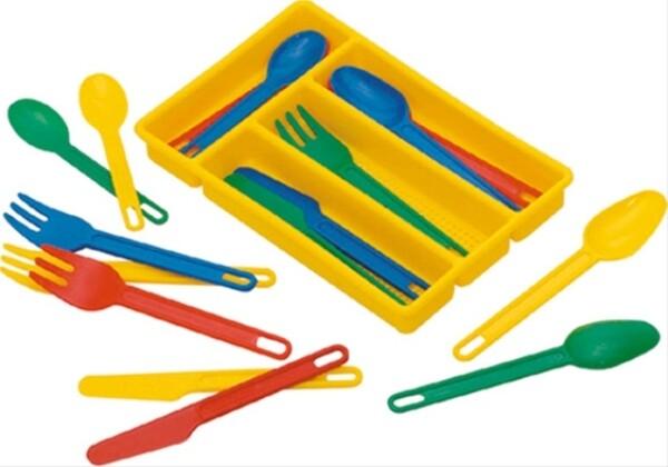 Spielzeug Besteckset 17-teilig
