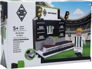 Borussia Mönchengladbach Umkleidekabine aus Bausteinen, 89 Teile