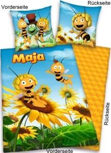 """Biene Maja Bettwäsche """"Sonnenblumenwiese"""""""