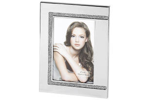 Bilderrahmen mit Glitter für 13 x 18 cm