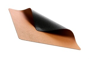 Bitz Tischset 47 x 34 cm schwarz/ braun 4er Set