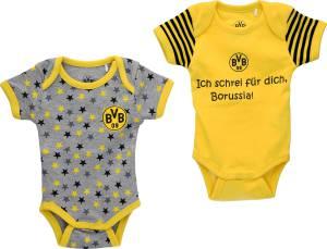 BVB Borussia Dortmund Babybody 2er-Set