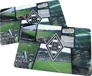 "Borussia Mönchengladbach Brettchen ""Bökelberg"" 2er-Set"