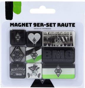 Borussia Mönchengladbach Magnet 9er Set