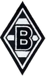 "Borussia Mönchengladbach Aufnäher ""Raute"""