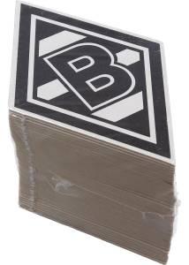 Borussia Mönchengladbach Bierdeckel Raute 50er Pack