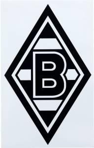 Borussia Mönchengladbach Aufkleber Raute mittel