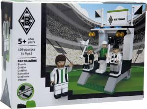 Borussia Mönchengladbach Fantribüne aus Bausteinen, 107 Teile