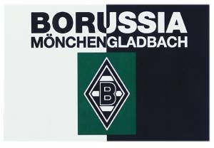 "Borussia Mönchengladbach Hissfahne ""Retro"" 150 x 100 cm"