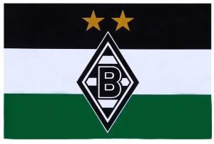 "Borussia Mönchengladbach Hissfahne ""S/W/G"" 250x150cm"