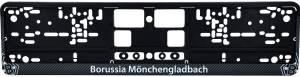 Borussia Mönchengladbach Nummernschildhalterung Carbon
