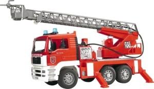 BRUDER MAN Feuerwehr mit Funktion