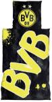 BVB Borussia Dortmund Bettwäsche Glow in the Dark 135x200cm