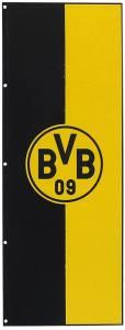 BVB Borussia Dortmund Hissfahne im Hochformat 150x400cm