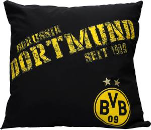 "BVB Borussia Dortmund Kissen ""Nullneun"" 40x40cm"