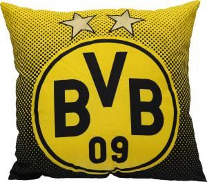 BVB Borussia Dortmund Kissen mit Logo 40x40cm