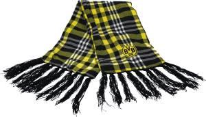 Borussia Dortmund BVB-Schal mit Karomuster