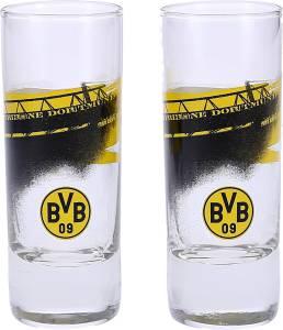 "BVB Borussia Dortmund Schnapsglas ""Südtribüne"" 2 Stück"