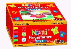 Kreul Hobby Line Mucki Fingerfarben Textil