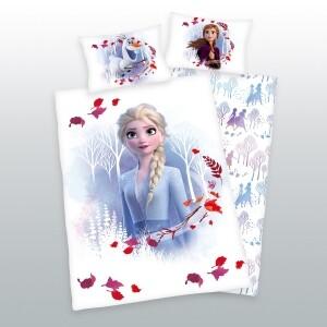 Bettwäsche Die Eiskönigin Elsa 100 x 135 cm, Flanell