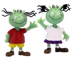 Die Olchis Figurenset Olchi-Junge und Olchi-Mädchen