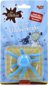 Die Olchis olchige Glibberkrake blau, 8 cm