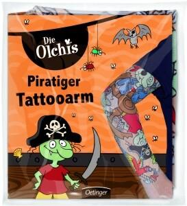 Die Olchis - Piratiger Tattooarm