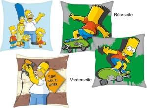 Die Simpsons Kissen 3er-Set, 40x40cm