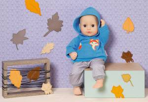 """Sport-Outfit """"Fuchs"""" für Puppen 34-38 cm"""