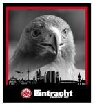 Eintracht Frankfurt Bettwäsche Kontrast 135x200cm