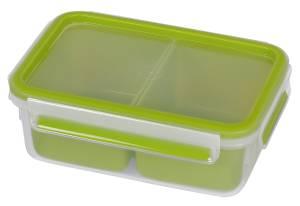 "Emsa Snackbox ""Clip & Go"" grün 1 Liter"