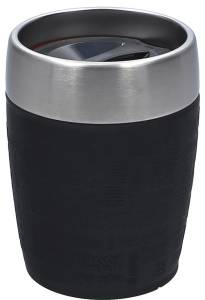 Emsa Isolierbecher Travel Cup 200 ml schwarz
