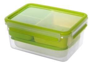 "Emsa Lunchbox ""Clip & Go"" 2,3 Liter grün"