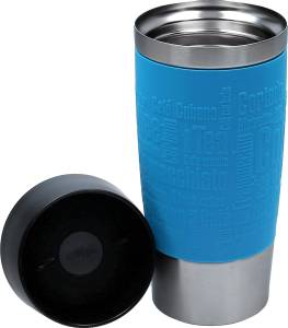 "Emsa Thermobecher ""Travel Mug"" wasserblau ca. 360 ml"