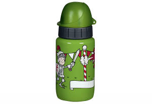 "Emsa Trinkflasche, ca. 400 ml, Drachen, ""Light Steel Kids"""