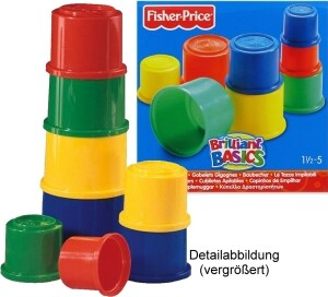 Produktabbildung Fisher Price Baubecher