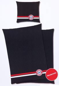"""FC Bayern München Bettwäsche """"Streifen"""" 135x200cm"""