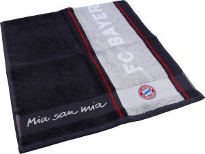 "FC Bayern München Duschtuch ""Mia san Mia"" 140x70cm"