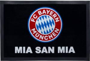 """FC Bayern München Fußmatte """"Logo"""" 60 x 40 cm schwarz"""