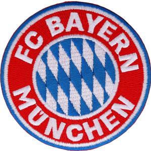 FC Bayern München Aufnäher Logo 8cm