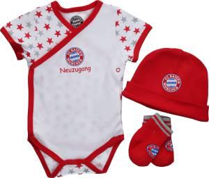 FC Bayern München Baby Set Sterne - verschiedene Größen