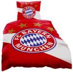 FC Bayern München Bettwäsche Schrägstreifen 135x200cm