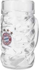 FC Bayern München Halbe-Maßkrug 0,5 Liter